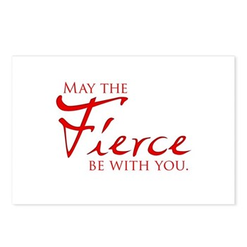 May the Fierce Be With You Postcards (Package of 8