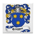 Crugger Coat of Arms Tile Coaster