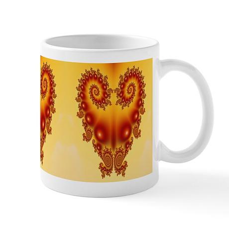 Heart Fractal Mug