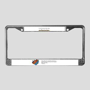 Be Brave License Plate Frame