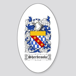 Sherbrooke Sticker (Oval)