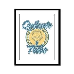 Quileute Wolfpack Framed Panel Print