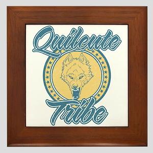 Quileute Wolfpack Framed Tile