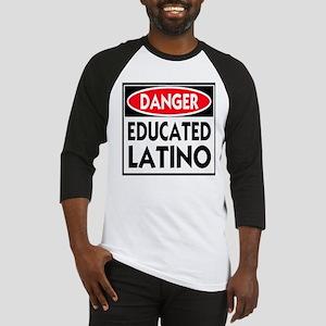 Danger Educated Latino Baseball Jersey