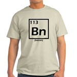 Elemental bacon periodic table Light T-Shirt