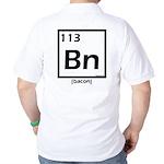 Elemental bacon periodic table Golf Shirt