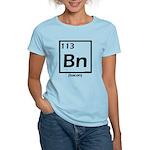 Elemental bacon periodic table Women's Light T-Shi