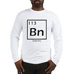 Elemental bacon periodic table Long Sleeve T-Shirt