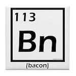 Elemental bacon periodic table Tile Coaster