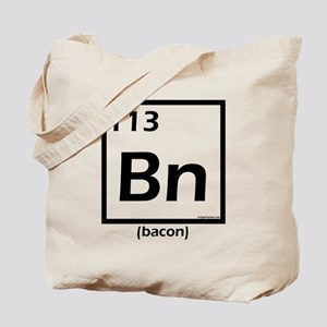 Elemental bacon periodic table Tote Bag