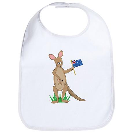 Animal Alphabet Kangaroo Bib