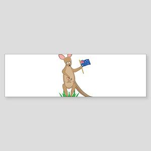 Animal Alphabet Kangaroo Sticker (Bumper 10 pk)