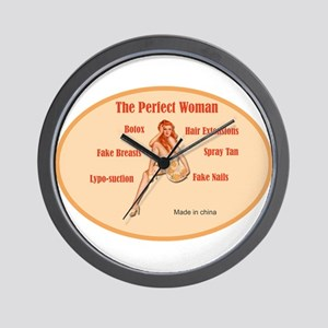The Perfect Woman Wall Clock