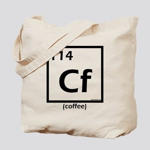 Elemental coffee periodic table Tote Bag