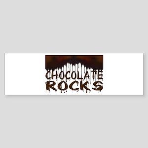 Chocolate Rocks Sticker (Bumper)