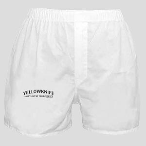 Yellowknife NWT Boxer Shorts