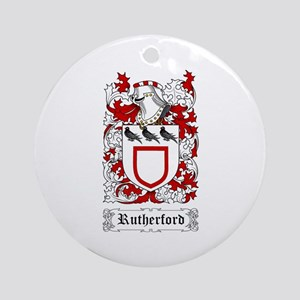 Rutherford Ornament (Round)