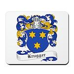 Krugger Coat of Arms Mousepad