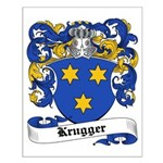 Krugger Coat of Arms Small Poster