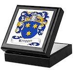 Krugger Coat of Arms Keepsake Box