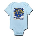 Krugger Coat of Arms Infant Creeper