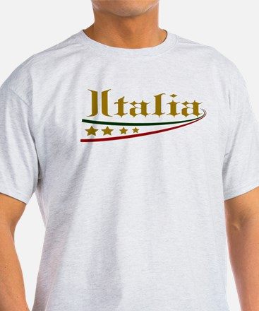 Italy Gold T-Shirt
