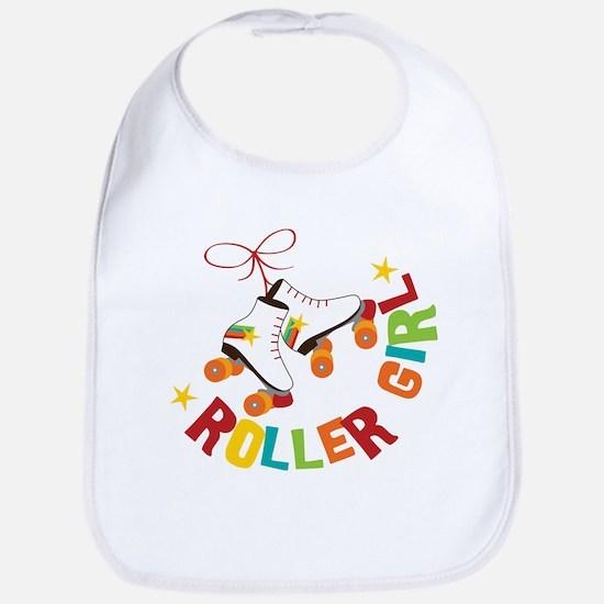 Roller Girl Bib