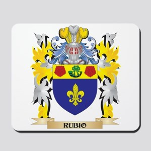 Rubio Family Crest - Coat of Arms Mousepad