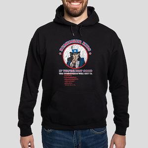 Remeber Kids (worn) Hoodie (dark)