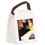 Mischief Kitten Canvas Lunch Bag