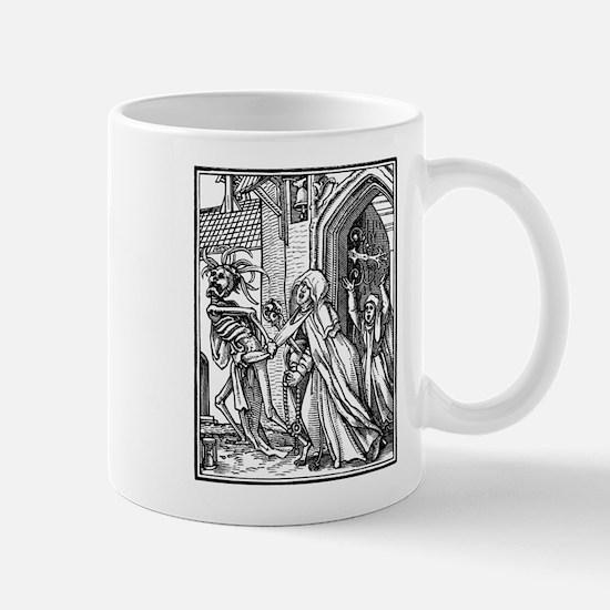 Unique Memento mori dead gothic Mug