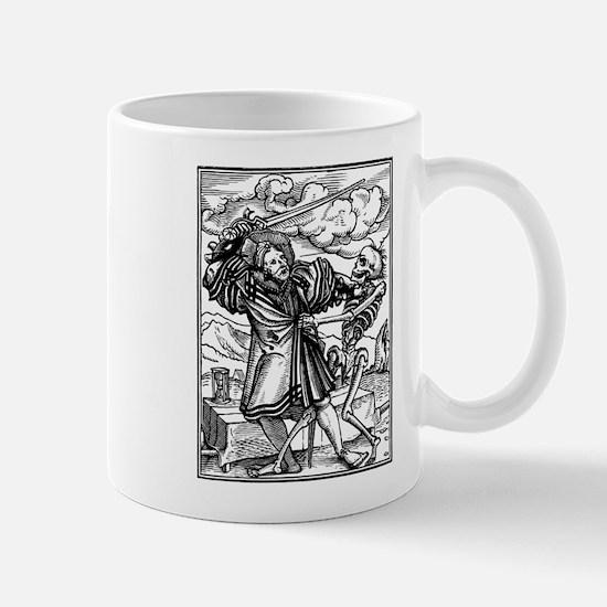 Funny Memento mori dead gothic Mug
