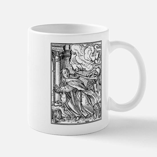 Cool Memento mori dead gothic Mug
