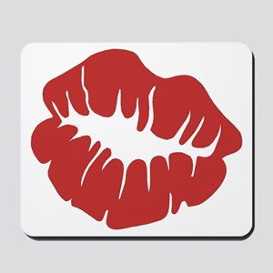 Red Lips Mousepad