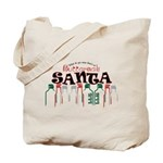 Buttcrack Santa Tote Bag