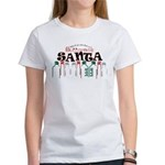 Buttcrack Santa Women's T-Shirt