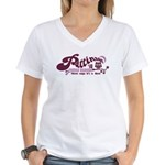 Patz Family Reunion Women's V-Neck T-Shirt