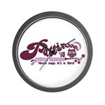 Patz Family Reunion Wall Clock