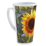 sunflower 17 oz Latte Mug