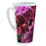 beautiful bouquet 17 oz Latte Mug