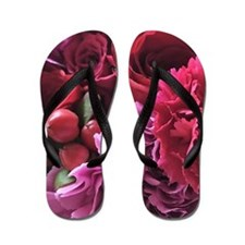 beautiful bouquet Flip Flops