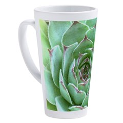 Succulent 17 oz Latte Mug
