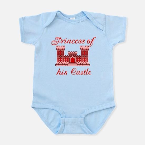his castle red Infant Bodysuit