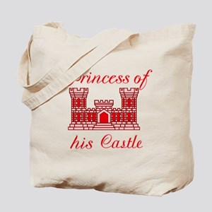 his castle red Tote Bag