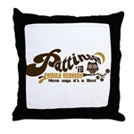 Patz Family Reunion Throw Pillow