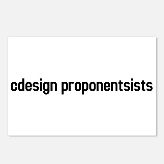 cdesign proponentsists Postcards (Package of 8)