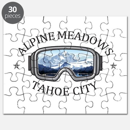 Alpine Meadows - Tahoe City - California Puzzle
