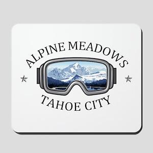 Alpine Meadows - Tahoe City - Californ Mousepad