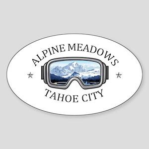 Alpine Meadows - Tahoe City - California Sticker