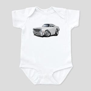Duster White Car Infant Bodysuit